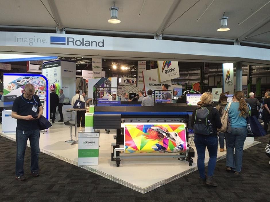 Roland DG Inspires at Visual Impact Sydney