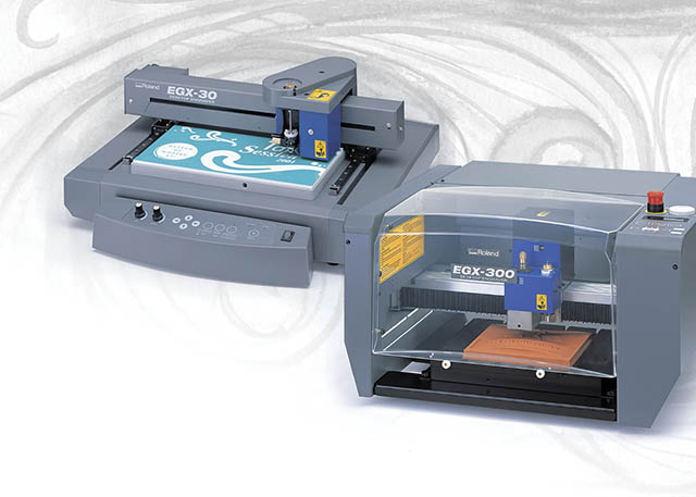 2001 Roland launches the EGX Series engravers, the industry's best value in computerized desktop engraving.