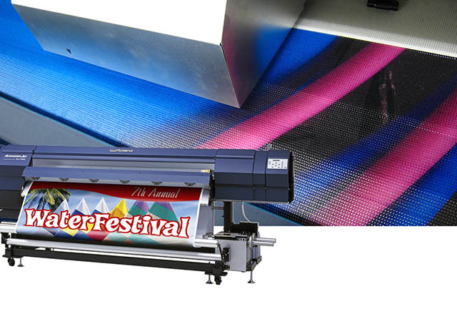 "2007 Mesh printing capabilities and a new 74"" model are added to Roland's AdvancedJET grand-format inkjet series."