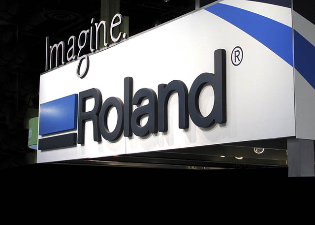 "2009 Roland DG, in cooperation with Roland DGA, launches the ""Imagine. Roland"" branding initiative."