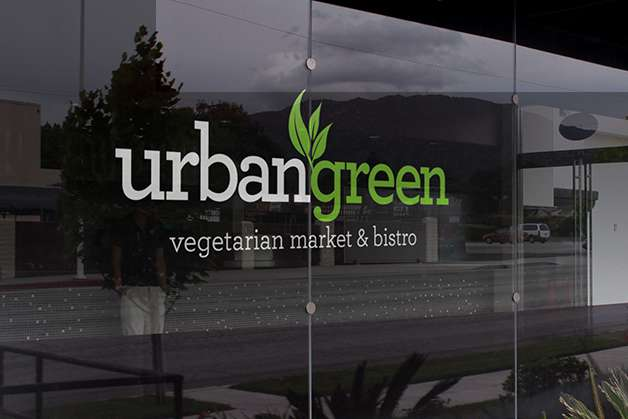 urbangreen window decal