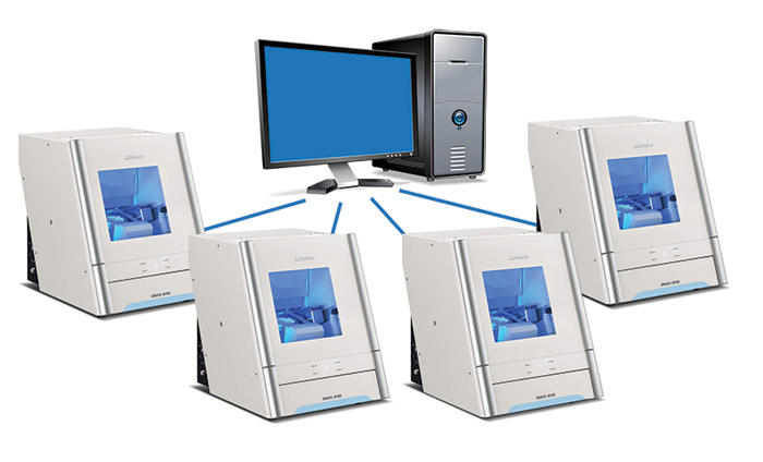 DWX-51D Connect Multiple Machines