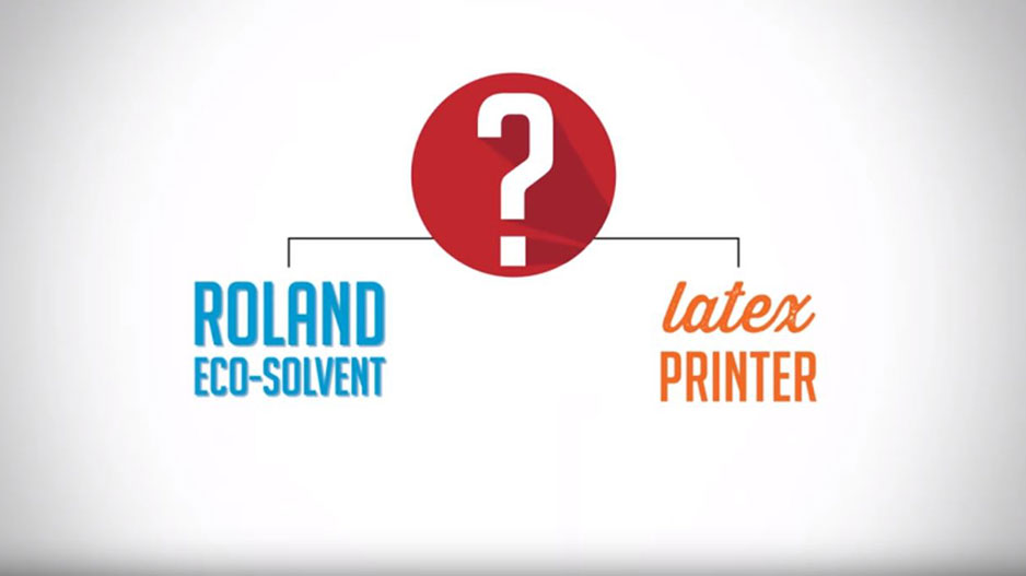 HP Latex Printing vs Roland Eco-Solvent | Roland DG