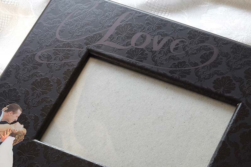 Print a customize frame with an LEF