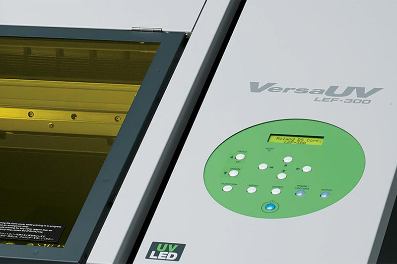 UV Flatbed Printer   VersaUV LEF-300 Specifications   Roland DGA