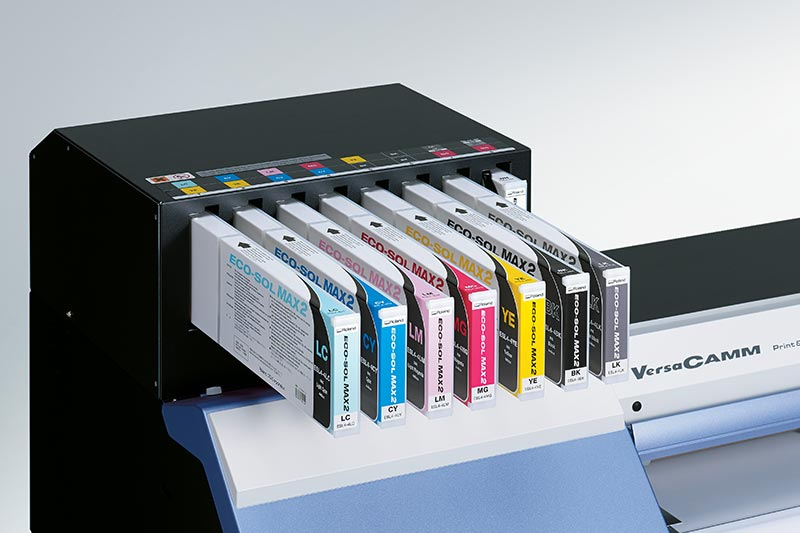 VersaCAMM VSi front-loading ink cartridge system