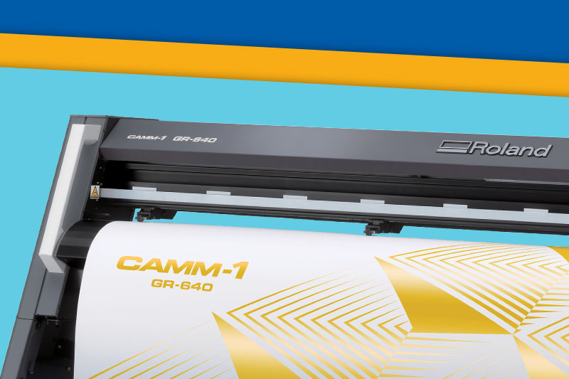 GR Series Large Vinyl Cutters Features